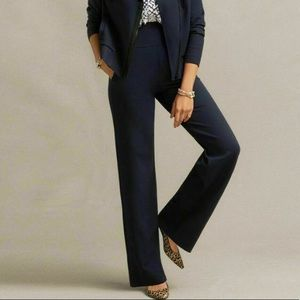 Cabi Chance Wide Leg Navy Dress Pants